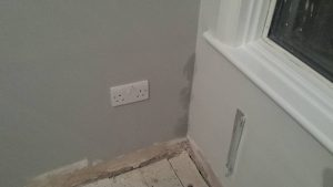 Damp in property. Renovating repossessed property